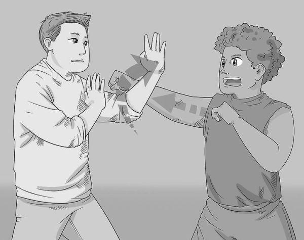 Sebeobrana - Blokace úderu